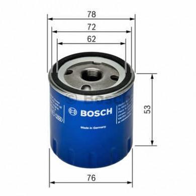 Filtru ulei  - BOSCH - 0451103336