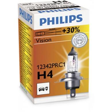 Bec Auto PHILIPS - H4 12V 60/55W P43t PREMIUM - 12342PRC1