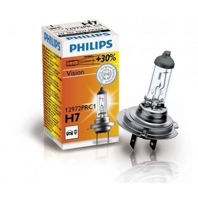 Bec Auto PHILIPS - H7 12V 55W PX26d PREMIUM - 12972PRC1
