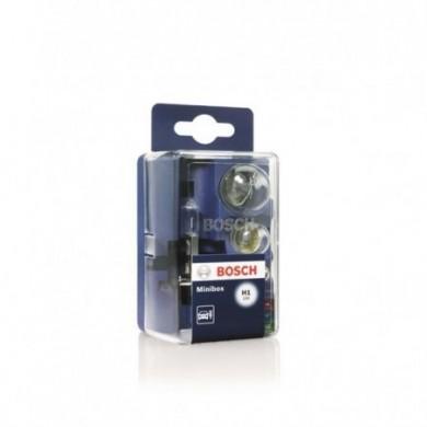 Set Becuri Rezerva BOSCH -MINIBOX H1 - 5 becuri + 3 sigurante