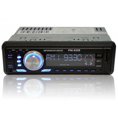 Radio MP3 player auto 1 DIN cu SD si USB PNI 8209