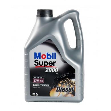Ulei motor MOBIL SUPER 2000 X1 10W-40 Diesel 5L