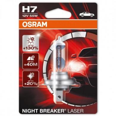 Bec Auto OSRAM - H7 12V 55W NIGHT BREAKER LASER (+130%) - 64210NBL-01B