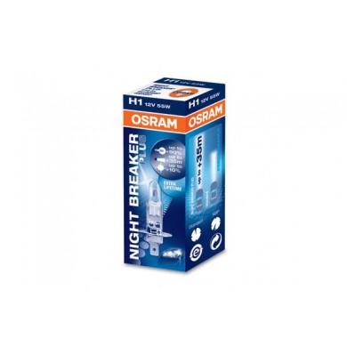 Bec Auto OSRAM H1 12V 55W P14,5s NIGHT BREAKER PLUS