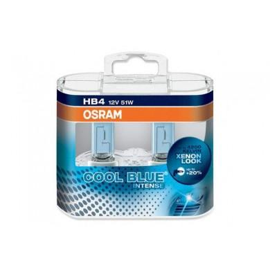 Set 2 Becuri OSRAM HB4 12V 51W P22d COOL BLUE INTENSE