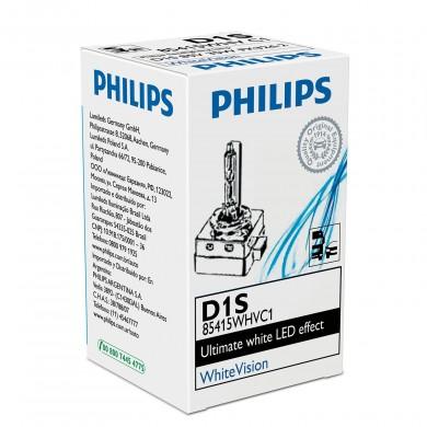 Bec XENON Philips D1S 12V / 24V 35W WHITE VISION - 85415 WHVC1