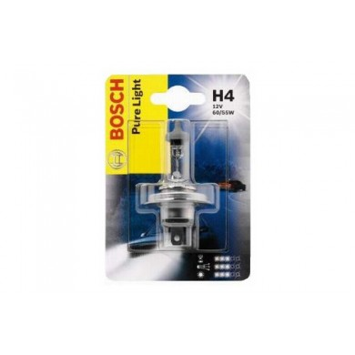 Bec Auto BOSCH - H4 12V 60/55W P43t  (BLISTER)