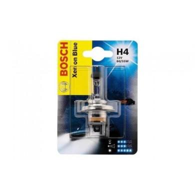 Bec Auto BOSCH - H4 12V 60/55W P43t  XENON BLUE (BLISTER)