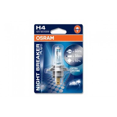 Bec Auto OSRAM - H4 12V 60/55W P43t NIGHT BREAKER PLUS (BLISTER)