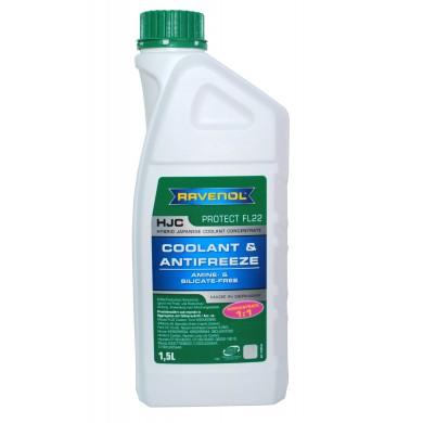 Antigel RAVENOL Antifreeze Japanese P-OAT Verde Concentrat - HJC- Protect FL22 - 1.5L