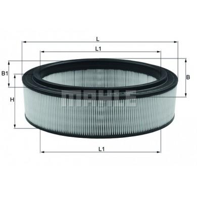 Filtru aer - Motor - MAHLE ORIGINAL - LX2844