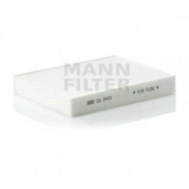 Filtru habitaclu - MANN-FILTER - CU 2433