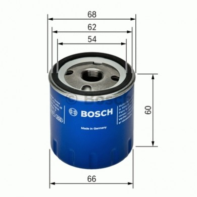 Filtru ulei - BOSCH - 0451104025