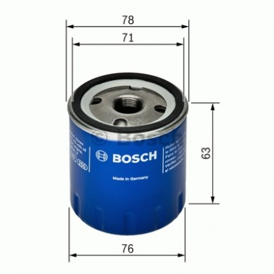Filtru ulei - BOSCH - F026407022