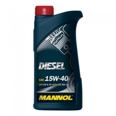Ulei motor MANNOL DIESEL 15W-40 1L
