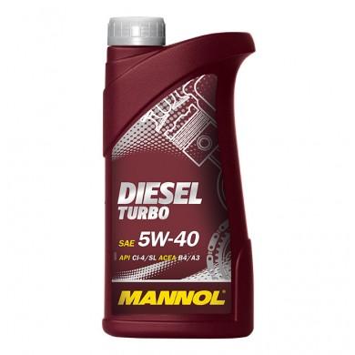 Ulei motor MANNOL DIESEL TURBO 5W-40 1L