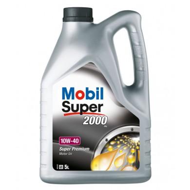 Ulei motor MOBIL SUPER 2000 X1 10W-40 Benzina 5L