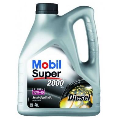 Ulei motor MOBIL SUPER 2000 X1 10W-40 Diesel 4L