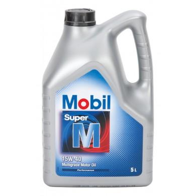 Ulei motor MOBIL SUPER M 15W-40 Benzina 5L