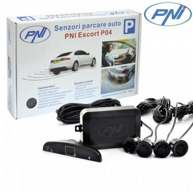 Senzori parcare auto PNI Escort P04 cu 4 receptori - PNI-P04