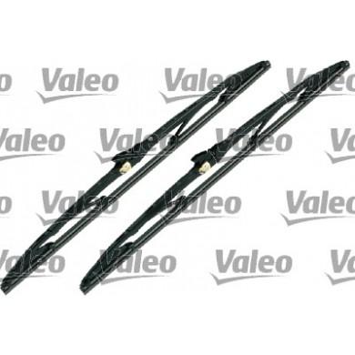 Set Stergatoare parbriz/luneta VALEO 2 x 510 mm - COMPACT