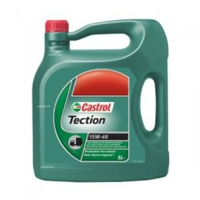 Ulei motor CASTROL TECTION 15W-40 5L