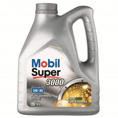 Ulei motor MOBIL Super 3000 Formula FE 5W-30 4L