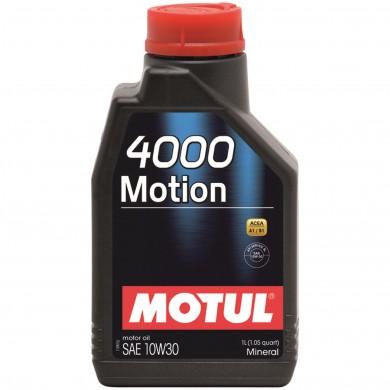 Ulei motor Motul 4000 Motion, 10W30, 1L