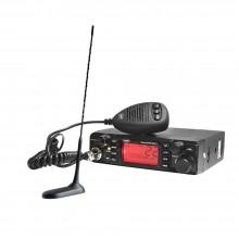Kit Statie radio auto CB PNI ESCORT HP 9001 ASQ + Antena CB PNI Extra 45 cu magnet