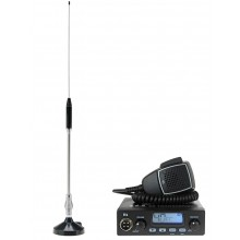 Kit Statie radio auto CB TTi TCB-550 + Antena PNI 18-244