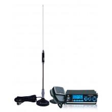 Kit Statie radio auto CB TTi TCB-775 + Antena CB Midland 18-244