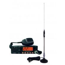 Kit Statie radio auto CB TTi TCB-990 + Antena Midland 18-244