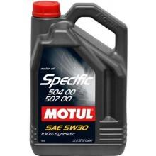 Ulei motor MOTUL SPECIFIC 504.00 - 507.00 5W30 5L