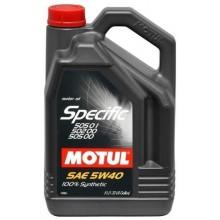 Ulei motor MOTUL SPECIFIC 505.01 - 502.00 5W-40 5L