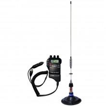 Kit Statie radio auto CB Midland Alan 52 + Antena PNI ML70