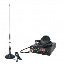Kit Statie radio auto CB PNI ESCORT HP 8000 ASQ + Antena CB PNI ML70