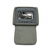Tetiera cu monitor si fermoar 7 inch culoare Gri, PNI-667C-G