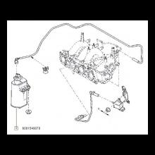 ABSORBANT VAPORI (CANISTRA CARBON) BENZINA LOGAN MPI - DACIA 6001549070