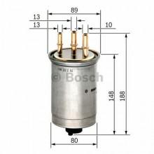 Filtru combustibil - BOSCH - 0450906508