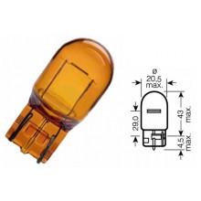 Bec Auto - NARVA - WY21W 12V 21W W3x16d galben