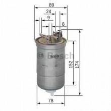 Filtru combustibil - BOSCH - 0450906322