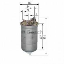 Filtru combustibil - BOSCH - 0450906374