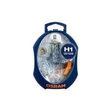 Set Becuri Rezerva OSRAM - MINI  H1, P21W, PY21W, P1/5W, R5W, W5W, 3 sigurante