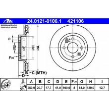 DISC FRANA - ATE - 24.0121-0106.1