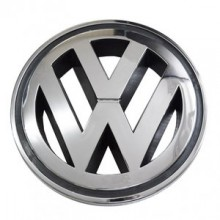 EMBLEMA - LOGO VW Original cod OE 1T0853601A FDY / VW Golf 5, Golf 6, Caddy 3, Polo 6R, 9N, Touran 1T, Eos - 125mm
