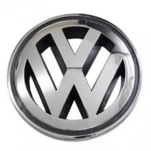 EMBLEMA - LOGO VW Original cod OE 1T0853601A FDY / VW Golf 5, Golf 6, Caddy 3, Polo 6R, 9N, Touran 1T, Eos - 125mm