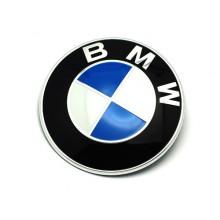 EMBLEMA - LOGO BMW Original cod OE 51148132375 / BMW E30 E36 E46, Seria 3, 5, 7 - Capota motor/portbagaj