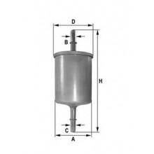 Filtru combustibil - Benzina - QWP - WFF115