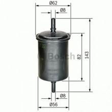 Filtru combustibil - Benzina - BOSCH - 0450902161