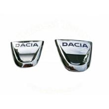 SET FATA + SPATE EMBLEME - LOGO DACIA Original cod OE 628900768R (COD VECHI 8200811907) / Logan, Logan MCV / Facelift
